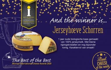 Nederlandse kaas opnieuw uitgeroepen tot beste kaas van de wereld!