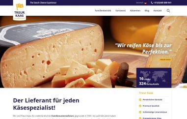 Neue Internetseite Treur Kaas